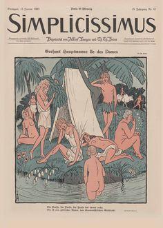 Simplicissimus·die historische Satirezeitschrift·Personenliste Satire, Monet, Batman Artwork, Sci Fi, The Past, Doodles, Fantasy, Cartoon, Comics