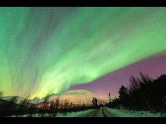 Tromso, Norway Northern Lights Time Lapse Compilation 2013