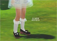 Child lace socks at Marigold • Sims 4 Updates