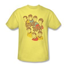 Star Trek Illustrated Animated TV Show Youth Ladies Jr Women Men T-shirt Top #Trevco #GraphicTee