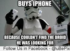 Stormtrooper has to compromise