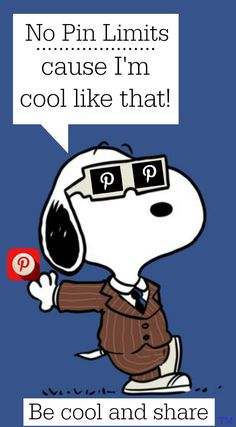 No pin limits on my Pinterest boards... cause I'm cool like that <3 Tam <3