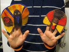 Thanksgiving craft idea: Throw a puppet show - OCCASIONS AND HOLIDAYS - All Holiday crafts, Knitting, Art, sewing, crochet, tutorials, children crafts, jewelry, needlework, swaps, papercrafts, Polymer clay, cooking, Quilting, Video How-To's, and so much more on Craftster.org