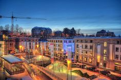 Lausanne | Blue Hour, Lausanne Flon. | Flickr - Photo Sharing!