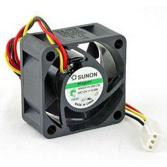 Free Shipping Sunon MagLev HA40201V4-0000-C99 40x20mm-3pin speed Sensor 4700RPM 5.5cfm 12dBA server inverter axial cooling fans
