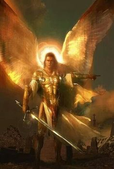 Archangel Michael warrior of love and protection. Always ask him to guide and protect you!.