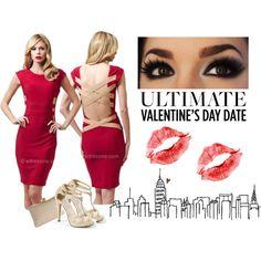 Score this fabulous look for Valentine's Day at www.edressme.com <3 #edressme