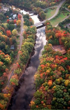 Best Places for Viewing Fall Foliage in Connecticut