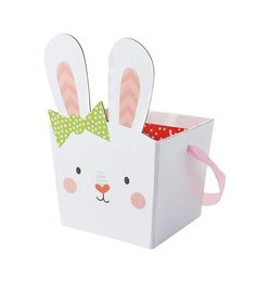 Easter Girl Bunny Pail
