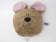 Kuschelige Bären Spieluhr aus Bio-Plüsch mit eigener Melodieauswahl / cute fluffly music box in shape of a teddybear, chose own melody by TanteMueller via DaWanda.com