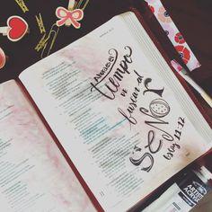 """""""Sembrad para vosotros según la justicia, segad conforme a la misericordia; romped el barbecho, porque es tiempo de buscar al SEÑOR hasta que venga a enseñaros justicia."""" Oseas 10:12 LBLA #BibleJournaling #JournalingBible #LámparaAMisPies #DiarioBíblico #Lettering"""