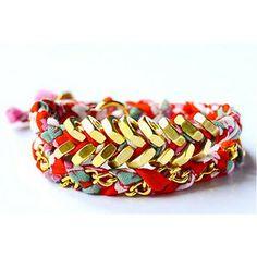 Tinn Lily Hex Nut Bracelet - Polyvore