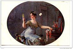 Salon de Paris - Eugène DEULLY - Le choix du ruban - Delcampe.net