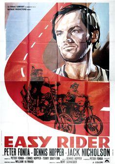 Original Easy Riders movie poster