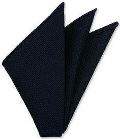 Purple on Midnight Blue Grenadine Pin Dot Silk Pocket Square #7