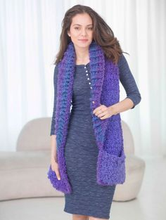 Pocket Shawl: free pattern