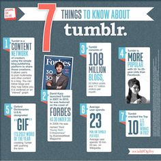 7 things you need to know about Tumblr. via Ogilvy