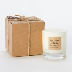 I really like the packaging of this candle and the matching label. It looks elegant but may be too crafty for the type of branding I am trying to achieve.