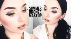 YouTuber thataylaa creates a Summer Bronzed look that is especially great for more Pale Skin tones. She uses her Sedona Lace brushes to help apply her makeup. www.sedonalace.com