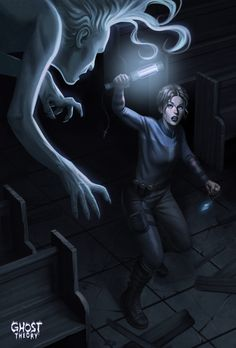 One of the main artworks used for our Kickstarter campaign. See more about Ghost Theory game on www.ghost-theory.com