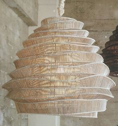 Bamboo Cloud Chandelier, Cumulus, Tall