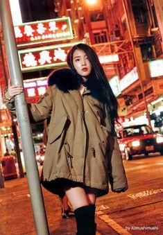 Pretty Ladies IU and Park Bo Young for Ceci Iu Fashion, Korean Fashion, Iu Chat Shire, Korean Beauty, Asian Beauty, Korean Girl, Asian Girl, Korean Actresses, Korean Celebrities
