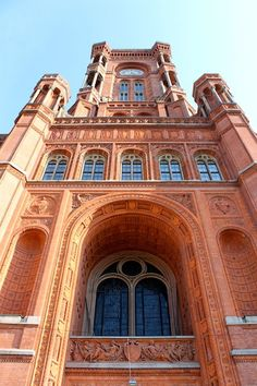 Rotes Rathaus in Berlin, Germany