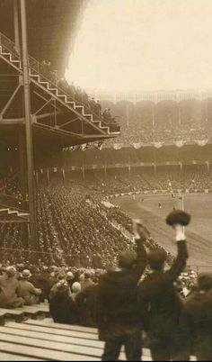 First game at Yankee Stadium in 1923