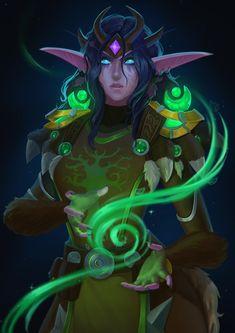 World Of Warcraft Druid, World Of Warcraft Characters, Warcraft Art, Fantasy Characters, Fantasy Character Design, Character Concept, Character Inspiration, Character Art, Character Ideas