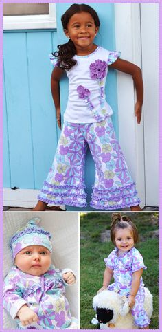 Too cute! Little Girl's Clothing