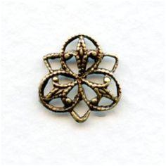 Connector Filigrees Super Style Oxidized Brass 11mm Filigree, Gold Rings, Brass, Jewelry, Style, Jewellery Making, Stylus, Jewelery, Jewlery