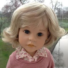 Ooak doll giselle gotz steiff doll. I bought a wig and nellie rose uk clothes and Gotz shoes. In her
