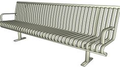 Thomas_Steele_Bench_CRB2-8A - 3D Warehouse