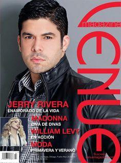 Jerry Rivera en la portada de la revista Venue