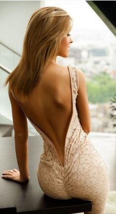 Sensual #Backless Dresses - Gorgeous Backless Dresses For 2015