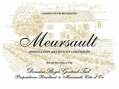 2011 Domaine Boyer-Gontard: Meursault 750 mL *** Check out this great image @