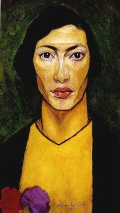 натан альтман (Natan Altman) selfportrait, 1911