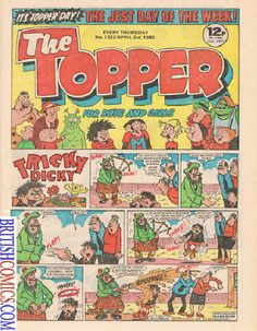 The Topper Comic Covers Gallery