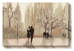 Trademark Fine Art 'An Evening Out Neutral' by Julia Purinton Painting Print on Canvas Neutral Canvas Art, Neutral Art, Painting Prints, Wall Art Prints, Canvas Prints, Painting Canvas, Framed Prints, Canvas Paintings, Canvas Artwork