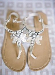 bd2f4df1997 sandals - love the bows and embellishments Cute Sandals