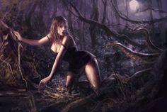 Digital Art by Laura Sava. Laura works on Digital & traditional painting, CD artwork and design, illustration.