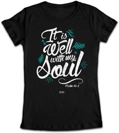 It Is Well With My Soul Junior Christian T-Shirt