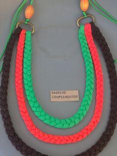 Collar Mandarina / DADELOS COMPLEMENTOS - Artesanio