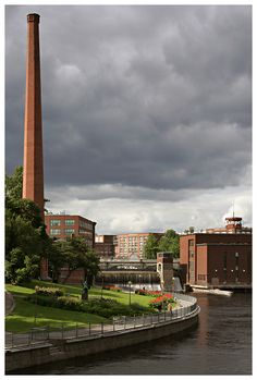 City of red bricks - Tampere, Western Finland