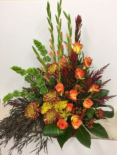 Send Seasonal Tribute in Pratt, KS from The Flower Shoppe, the best florist in Pratt. All flowers are hand delivered and same day delivery may be available. Altar Flowers, Church Flowers, Funeral Flowers, Fall Flowers, Flowers Garden, Flowers Bunch, Flowers Decoration, Flower Gardening, Flowers Nature