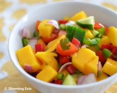 Mango Salsa | Slimming Eats - Slimming World Recipes
