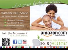 Yes ROQSTONE the natural deodorant company has scaled so they can let the world Go Green! shop and ship Roqstone via Amazon.com in 60 countries. #roqstone #roqurbody