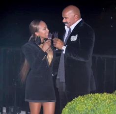 marjorie and steve harvey The Lady Loves Couture, Love Couture, Black Couples, Couples In Love, Power Couples, Style And Grace, Love Her Style, Majorie Harvey, Couple Noir
