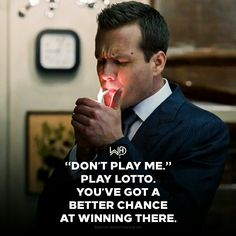 ⚠ . . . #whatwouldharveydo #harveyspecter #gabrielmacht #suits #inspiration #life #play #winning #dontplayme #goals #motivationalquotes #harveyspecterquotes #wwhd