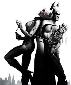 Catwoman & Batman - Pictures & Characters Art - Batman: Arkham City
